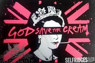 God save the sex pistols cream