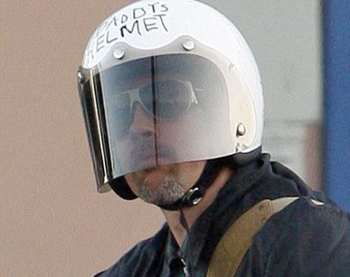 read my helmet